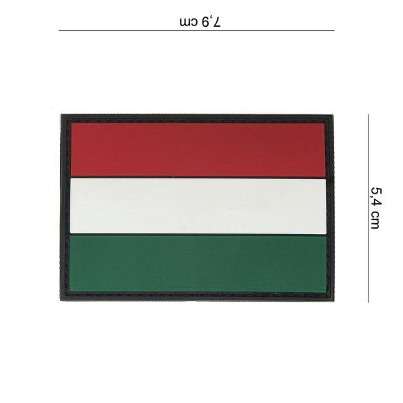 Magyarország tépőzáras PVC felvarró