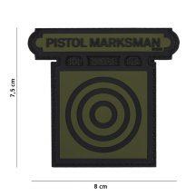 Pistol Marksman tépőzáras PVC felvarró