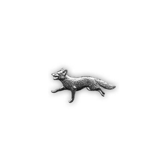 Vadász kitűző - róka