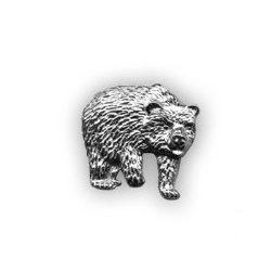 Vadász kitűző - medve