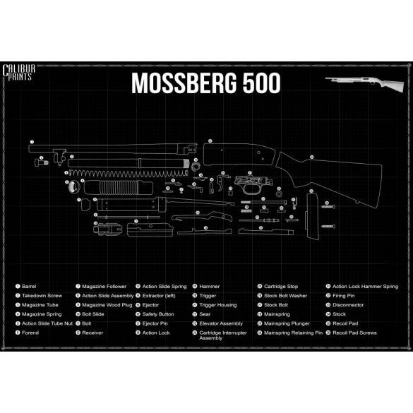 Mossberg 500 Tactical 20 P/A syntetic 12/76