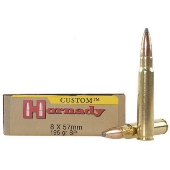 Hornady 8x57mm JS 195gr SP