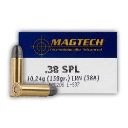 Magtech .38 Special 158gr LRN