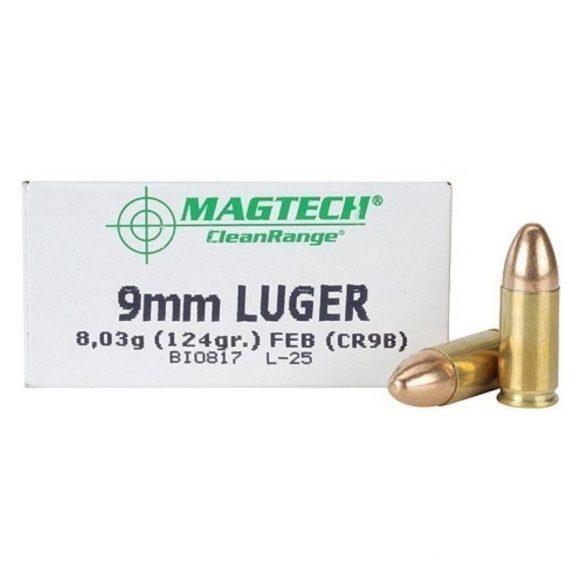 Magtech 9mm Luger 124gr FMJ Clean Range
