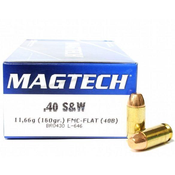 Magtech .40S&W 180gr FMJ flat