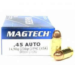 Magtech .45 Auto 230gr FMJ - Reintex fegyver és lőszer bolt 103fdc1508