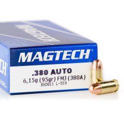Magtech .380 Auto 95gr FMJ