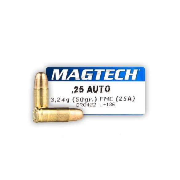 Magtech 6,35mm Browning 50gr FMJ