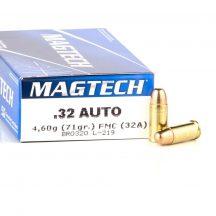 Magtech 7,65mm Browning 71gr FMJ
