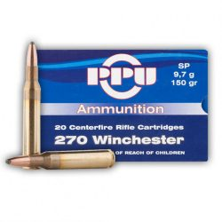 Prvi Partizan .270 Winchester 150gr SP