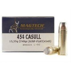 Magtech .454 Casull 240gr SJSP flat
