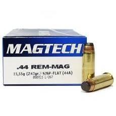 Magtech .44 Rem Magnum 240gr SJSP flat