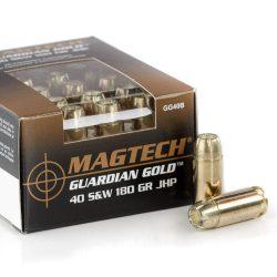 Magtech .40 S&W Guardian Gold 180gr JHP