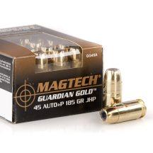 Magtech .45 Auto Guardian Gold 185gr JHP