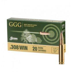 GGG .308 Win. 165gr SBT  Sierra GameKing