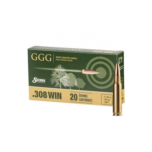 GGG .308 Win. 180gr SBT  Sierra GameKing