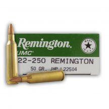 Remington .22-250 50gr JHP