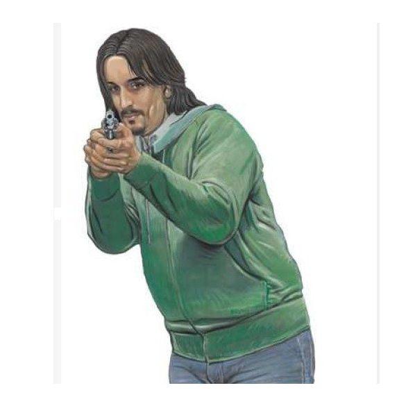 Shooting Target 08