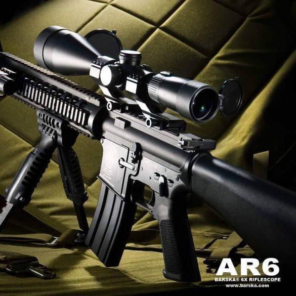 Barska AR6 2.5-15x56 rifle scope