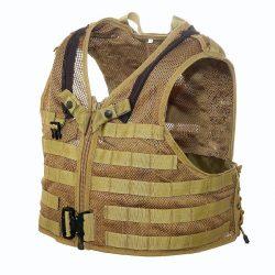 NFM Puma MOLLE vest - tan L