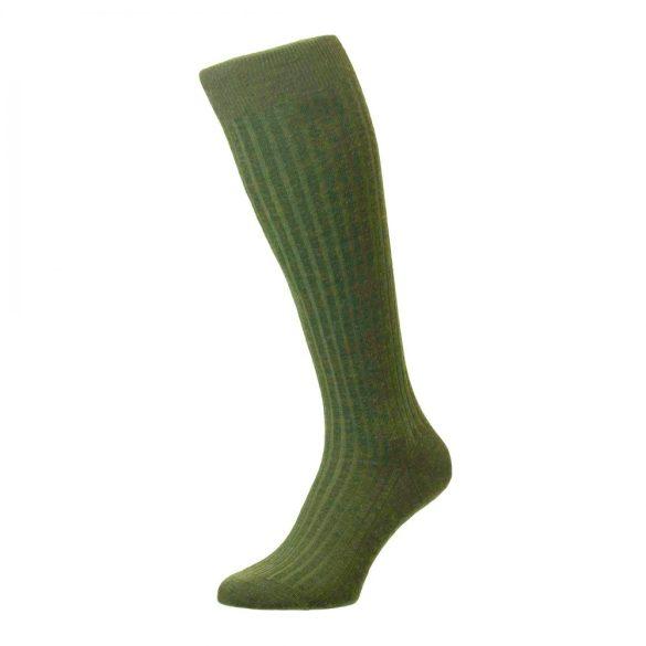 M-Tramp thermo térdzokni - zöld