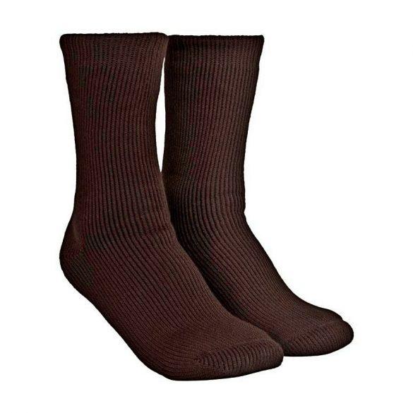 M-Tramp thermo zokni - barna 39-45
