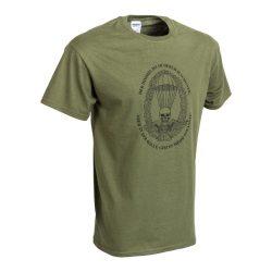 M-Tramp ejtőernyős póló (német) - military-zöld