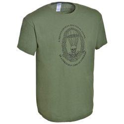 M-Tramp ejtőernyős póló (magyar) - military-zöld