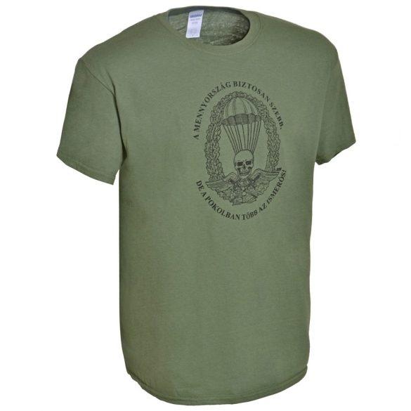 M-Tramp ejtőernyős póló (magyar) - military-zöld XL
