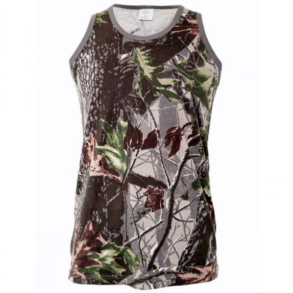 M-Tramp Herne Tank Top - green-hardwood