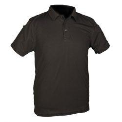 Mil-Tec taktikai piké póló - fekete