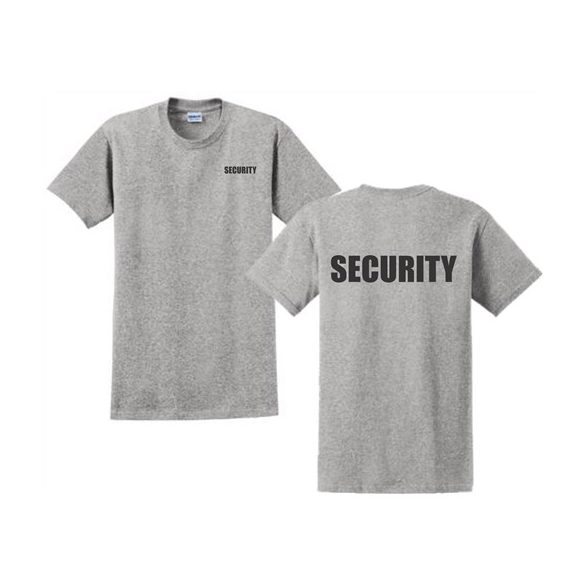 M-Tramp Security póló - szürke 3XL