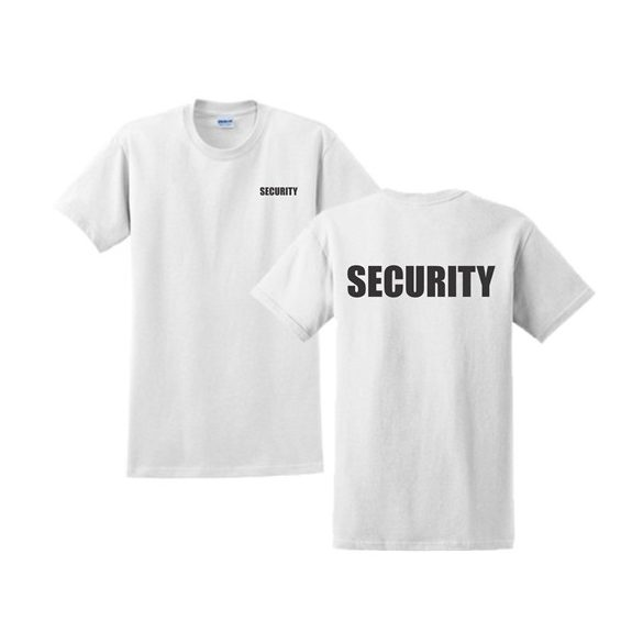 M-Tramp Security T-Shirt - white