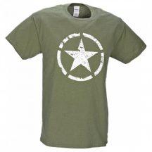 M-Tramp Army csillag póló