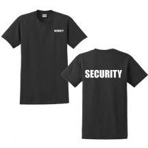 M-Tramp Security póló - fekete