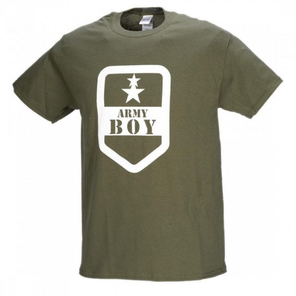 M-Tramp Army boy póló - military-zöld 2XL