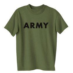 M-Tramp Army póló - military-zöld/fekete
