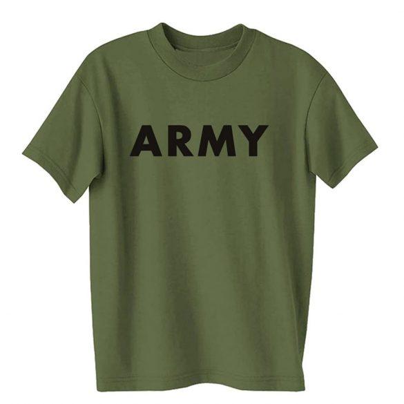 M-Tramp Army póló - military-zöld/fekete S