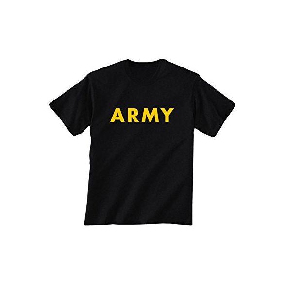 M-Tramp Army póló - fekete/sárga M