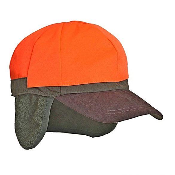 M-Tramp kifordítható vadász sapka - zöld/narancs 61-63