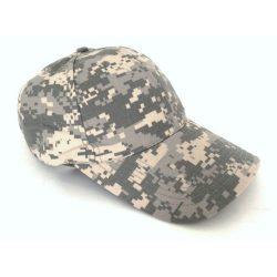 Mil-Tec Ripstop Baseball Cap - grey-digit