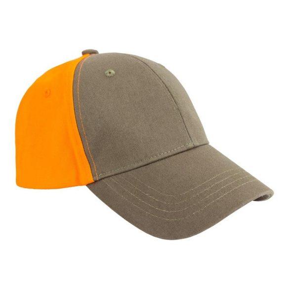 M-Tramp Herne Baseball Cap - orange/green