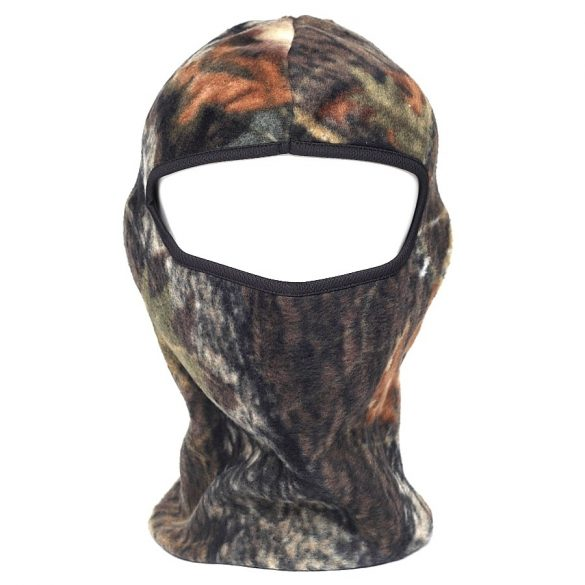 M-Tramp 1-hole fleece face mask - hardwood