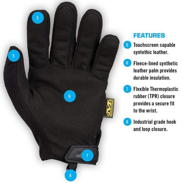 Mechanix FastFit Insulated gloves - black