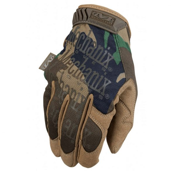 Mechanix Original kesztyű - woodland 2XL