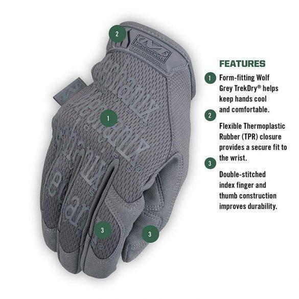 Mechanix Original gloves - grey